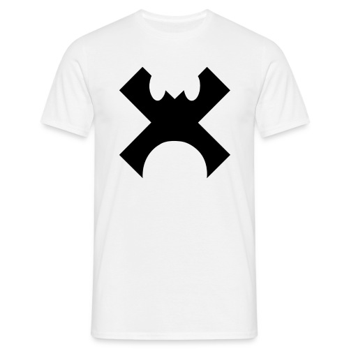 Cross Control Men T Black Logo - Men's T-Shirt