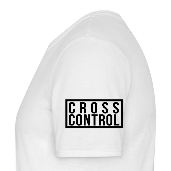 Cross Control Men T Black Logo