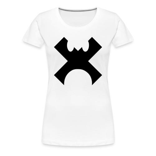 Cross Control Girlss T Black Logo - Women's Premium T-Shirt