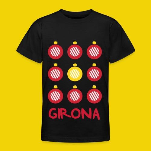 Teenage Girona Badge T-Shirt (On Black) - Teenage T-Shirt