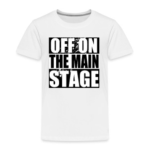 Mainstage T-Shirt (White - Kids) - Kids' Premium T-Shirt