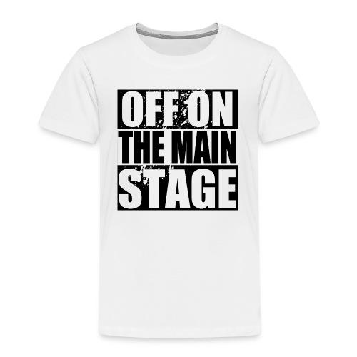 Mainstage T-Shirt (White - Kids) - Kids' Premium T-Shirt