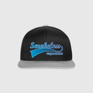 Shirt Smokeless Vape More Caps & Mützen - Snapback Cap