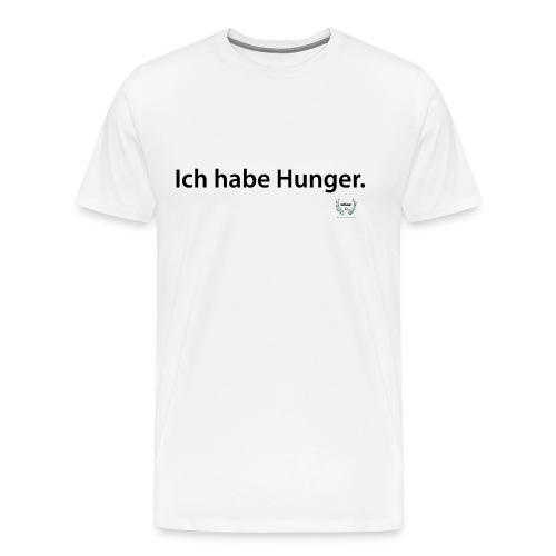 Ich habe Hunger. - men - Männer Premium T-Shirt