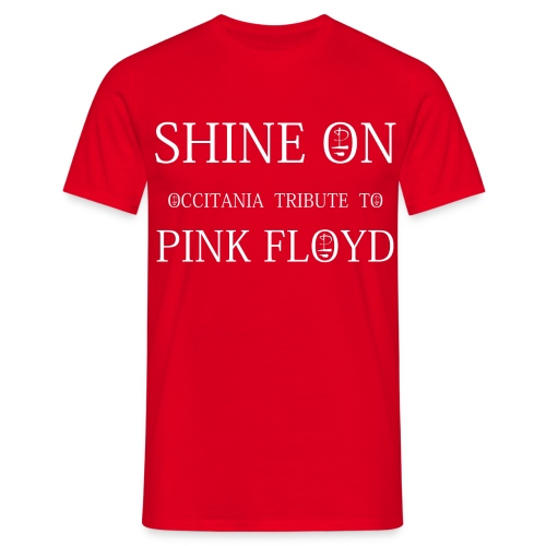 T-SHIRT SHINE ON - ROUGE 1994 - T-shirt Homme
