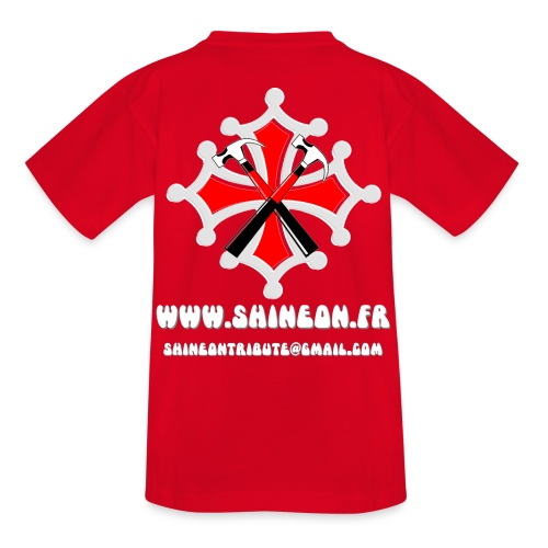 ADOS ROUGE 70s - T-shirt Ado