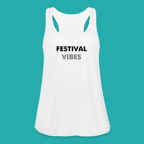 FESTIVAL VIBES T-shirt - Women's Tank Top by Bella