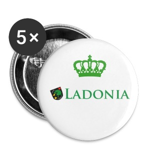 Yes Ladonia ! - Buttons small 25 mm