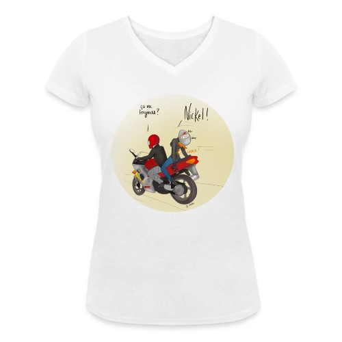 Etre SDS (simple) - T-shirt bio col V Stanley & Stella Femme