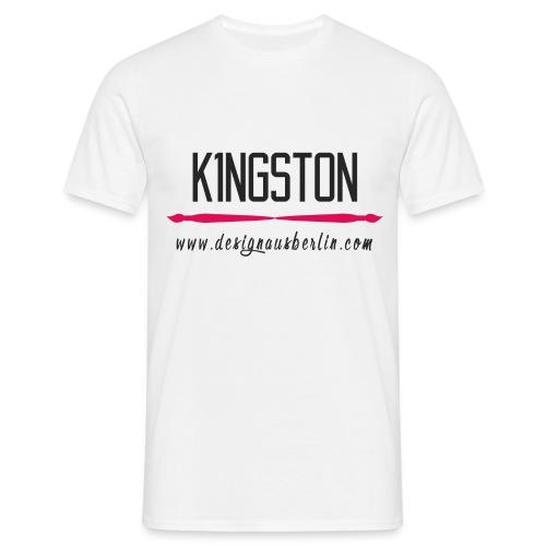 K1ngston Designausberlin Dunkles Motiv - Männer T-Shirt