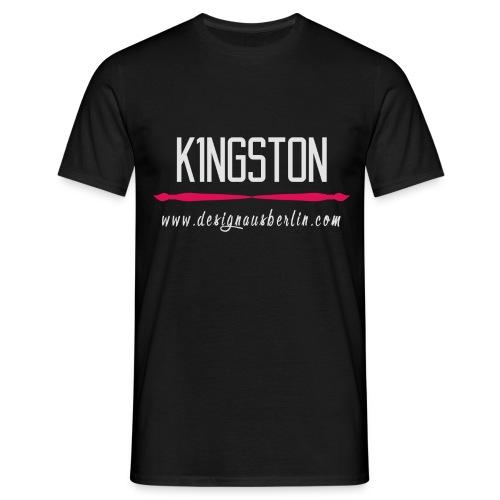 K1ngston Designausberlin Helles Motiv - Männer T-Shirt
