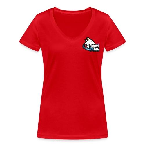 T-Shirt Col V Femme - T-shirt bio col V Stanley & Stella Femme