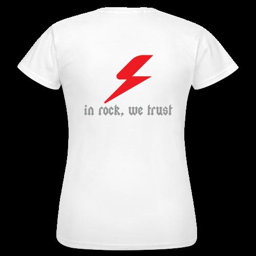 Tee-Shirt In Rock Femme - T-shirt Femme