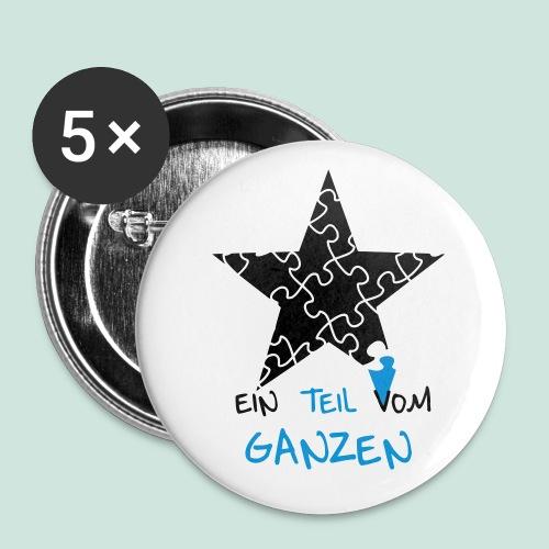 Ein Teil vom Ganzen - Button - Buttons klein 25 mm