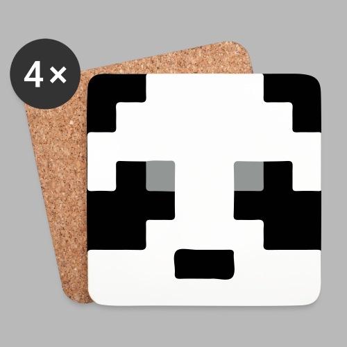 Panda Face Coaster - Coasters (set of 4)