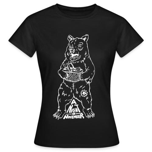 Picnic - White Bear (Womans Tee) - Women's T-Shirt
