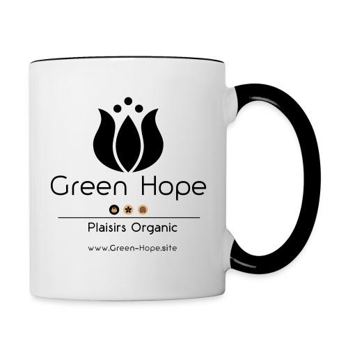 Tasse Classique Green Hope - Mug contrasté