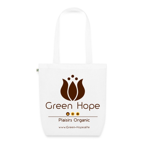Sac en tissu Bio 100% Recyclé - Green Hope - Sac en tissu biologique