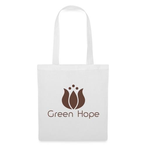 Sac Tissu - Brown Design - Green Hope - Tote Bag