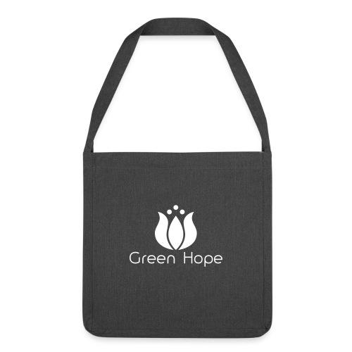 Sac Bandouillère 100% Recyclé - White Design - Green Hope - Sac bandoulière 100 % recyclé