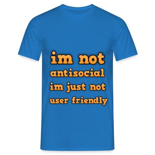 Anti-Social T-Shirt - Men's T-Shirt