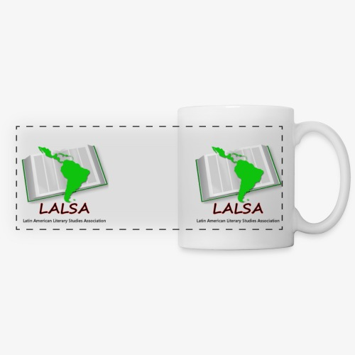 LALSA white mug - Panoramic Mug