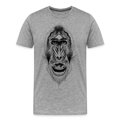 Mandrill tattoo - Men's Premium T-Shirt
