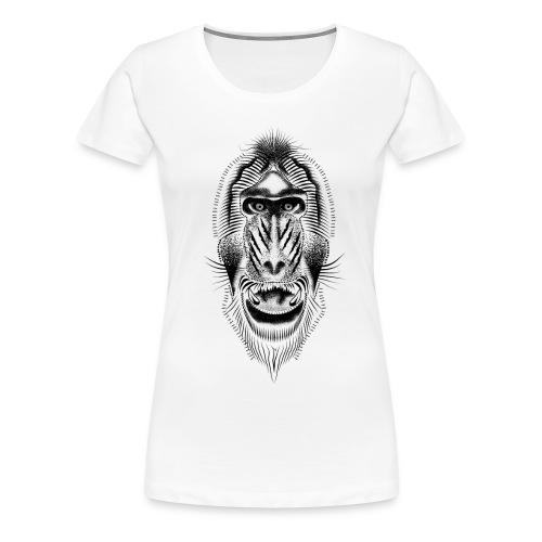 Mandrill tattoo - Women's Premium T-Shirt
