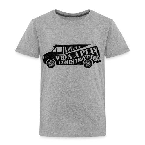 A Team Van Quote - Kids' Premium T-Shirt