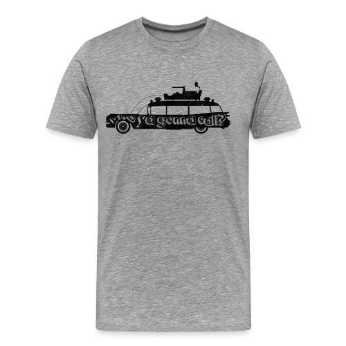 Ghostbusters car quote - Men's Premium T-Shirt