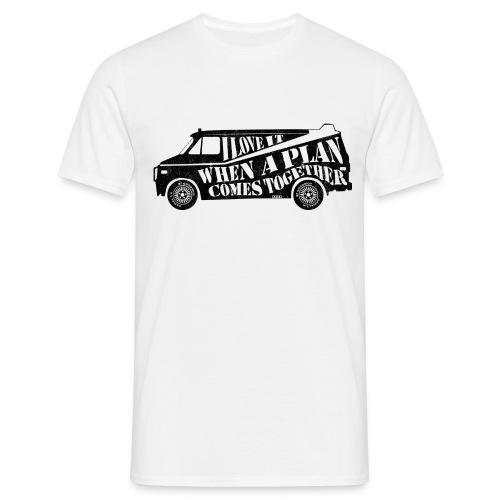 A Team Van Quote - Men's T-Shirt
