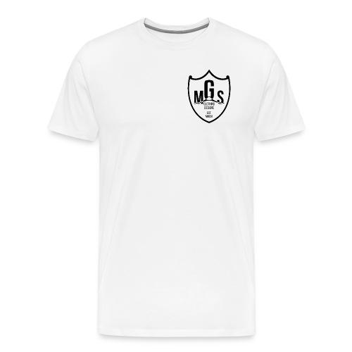 MGS Shield Logo Small (Men's) - Men's Premium T-Shirt