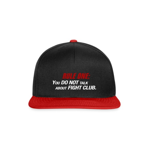 Cap - Fight Club - Snapback Cap