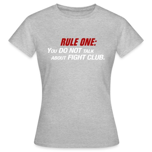 Women's T-shirt - Fight Club - Women's T-Shirt