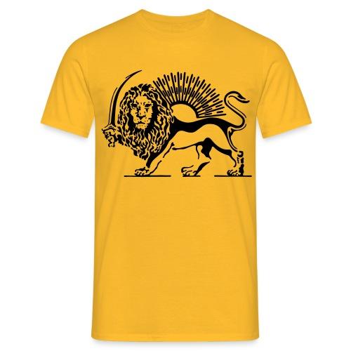 Shiro Khorshid/Löwe und sonne T-Shirt - Männer T-Shirt
