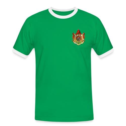 Königreich Sachsen - Männer Kontrast-T-Shirt