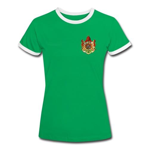 Königreich Sachsen - Frauen Kontrast-T-Shirt