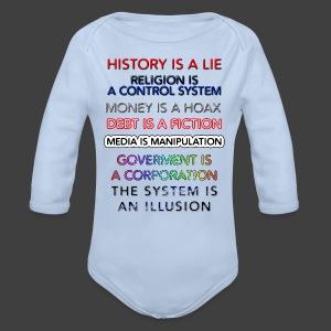 Lies - Organic Longsleeve Baby Bodysuit