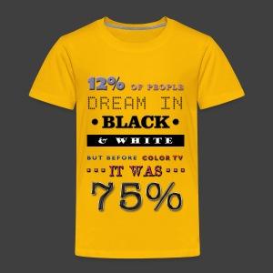 12% - Kids' Premium T-Shirt