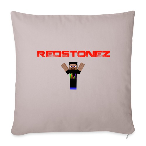 RedstoneZ Cushion - Sofa pillow cover 44 x 44 cm