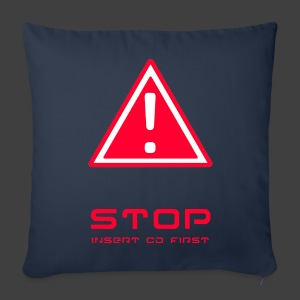 STOP - Sofa pillow cover 44 x 44 cm