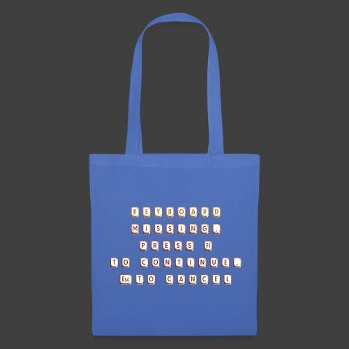 Keyboard missing - Tote Bag