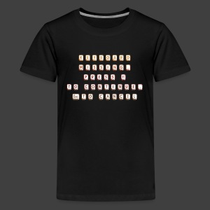 Keyboard missing - Teenage Premium T-Shirt