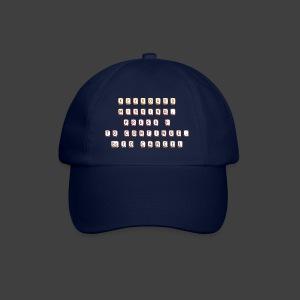 Keyboard missing - Baseball Cap