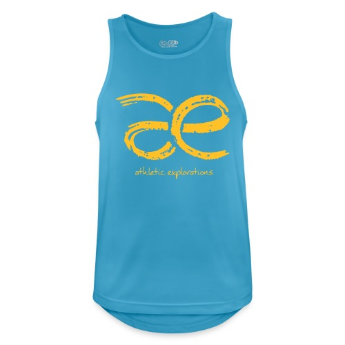 M yellow gold | goldgelbes æ logo - Men's Breathable Tank Top