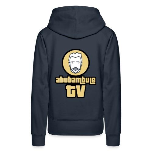 Damen Kapuzenpullover - Abubambule TV - GE Logo in verschiedenen Farben - Frauen Premium Hoodie