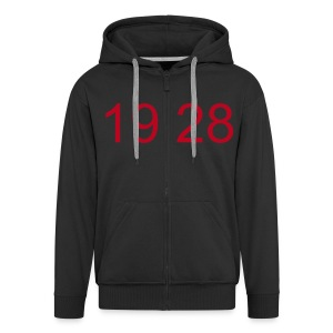 1928 Zipper - Men's Premium Hooded Jacket