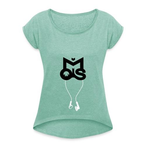 Moisshirt Frauen - Frauen T-Shirt mit gerollten Ärmeln
