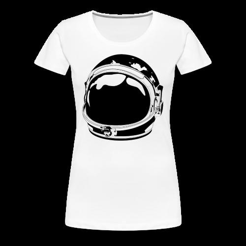 The Cosmonaut (Women's premium short sleeve) - Women's Premium T-Shirt