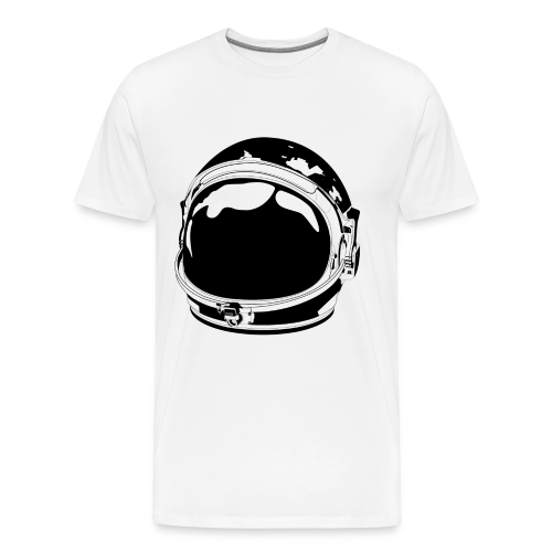 The Cosmonaut (Men's premium shirt sleeve) - Men's Premium T-Shirt